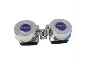 Ongaro Mini Compact Twin Horn 12V