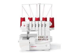SINGER 14T968DC Professional 5 5-4-3-2 Thread Capability Serger Overlock with Auto Tension