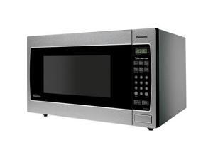 Panasonic Full-Size 1.6 cu. ft. Genius Countertop / Built-in Microwave Oven with Inverter Technology NN-SN773S