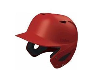 Wilson WTA5407SC Superfit Matte Batting Helmets, Scarlet