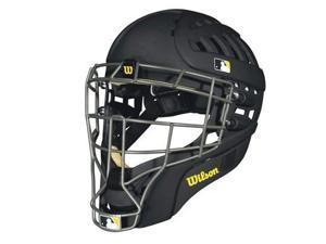Wilson WTA5500BLLXMAT Shock FX 2.0 Matte Catcher Helmet, Black