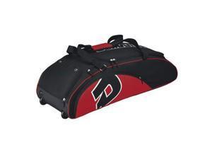Wilson WTA9405SC Demarini Vendetta Wheel Bag, Scarlet