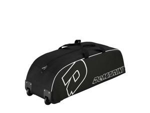 Wilson WTA9417BL DeMarini Youth Wheel Bag, Black