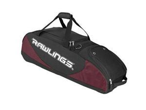 Bat Bag Wheeled Maroon 4