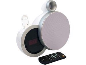 White App-Enhanced Smart Audio Bluetooth? Speaker System with Android? Smartphone Dock