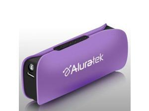 Aluratek Portable Battery Charger - Violet