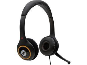 Over-The-Head USB Digital Headset with Noise Canceling Microphone