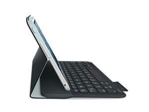 Logitech 920-005893 Logitech Ultrathin Keyboard Folio (PU Leather) for iPad mini Carbon Black