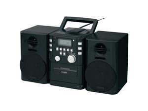 JENSEN CD-725 Portable CD Music System with Cassette & FM Stereo Radio