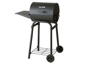 Char-Broil American Gourmet 300 Series Barrel-Style Charcoal Grill 12301678 Black