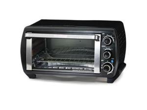 WB Toaster Oven 6Slice Blk SS