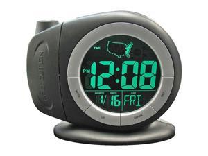 Electric Time-Ready LCD Projector Dual Alarm Clock
