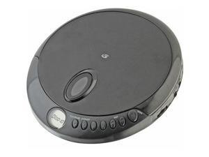 GPX PC301B Portable CD Player with Stereo Earbuds and Anti-Skip Protection