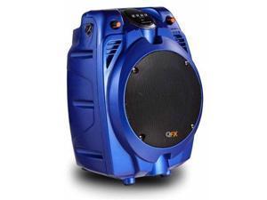QFX PBX-706100BT-BLUE BATTERY POWERD PA SPEAKER