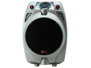 QFX PBX-706100BT-SILVER BATTERY POWERD PA SPEAKER