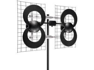 "ANTENNAS DIRECT C4-CJM ClearStream(TM) 4 UHF Outdoor Antenna with 20"" Mount"