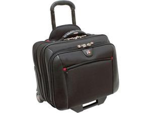 "15.4"" Double Gusset Wheeled Case with Matching Removable Notebook Case"