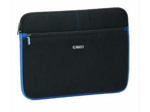"Bag 15.6"" Laptop Sleeve Blk/Blue Neoprene"