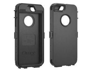 OtterBox Defender Series Black Solid Plastic Shell Case for iPhone 5/5S 78-35400