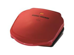 George Foreman 2 Serving Classic Plate Grill - 36 Sq. inch. Cooking Area - Red