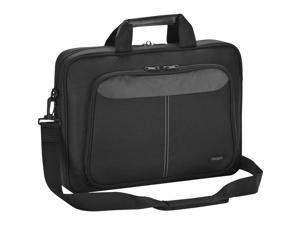 "Targus Intellect TBT240US Carrying Case (Sleeve) for 15.6"" Notebook - Black - Nylon - Shoulder Strap"