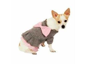 Ethical Pet Everyday Adorable Sweater Dress Grey Medium