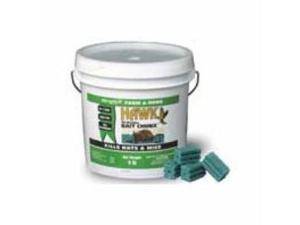 Motomco Rodent Hawk Rodenticide 1Oz Chunx 9# Pail