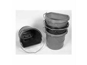 Horse Flat Back Bucket Navy 20 Qt