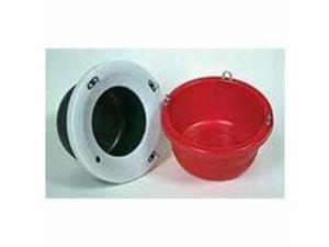 Horse Slow Feeder Lip Red With Lip Large