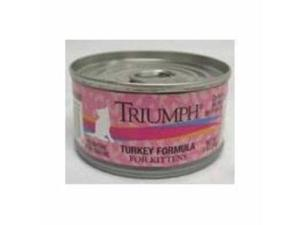 Triumph Kitten Turkey Food 3Oz 24 Pack