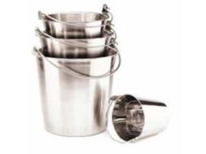 Ethical Pet Dish Stainless Steel Pail With Handle 9 Quart