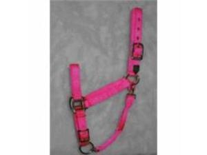 Hamilton Halter Adjustable Ible Chin Halter Average Hot Pink
