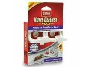 Home Defense Press N Set Mouse Trap 2 Pack