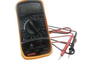Digital Voltmeter Ohmmeter Ammeter Multimeter OHM DC AC Voltage XL830L