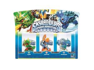 Camo, Ignitor, and Warnado Skylanders Spyro's Adventure 3 Pack