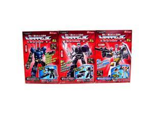 Motormaster Onslaught Silverbolt Mini Transformers Series 7 Kabaya Gum Set