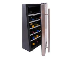 Refurbished: NewAir AW-181E Streamlined 18 Bottle Thermoelectric Wine Cooler, Stainless