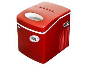Refurbished: Newair AI-215R Red Portable Ice Maker - 50 Lbs. Daily Capacity