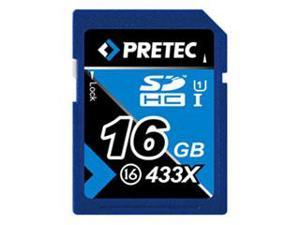 Pretec SDHC 433X 16GB Class 16 Flash Card