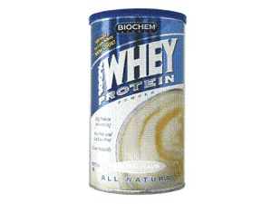 100% Whey Protein Isolate-Natural - Biochem - 12.3 oz - Powder