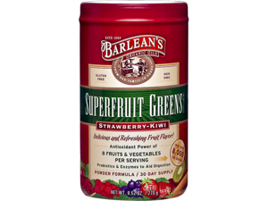 Superfruit Greens - Strawberry Kiwi - Barlean's - 9.52oz - Powder