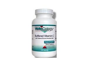 Buffered Vitamin C Cassava Source - Nutricology (Allergy Research) - 120 - VegCap