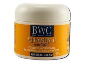 Organic Renewal Cream W/ Vitamin C - Beauty Without Cruelty - 2 oz - Cream