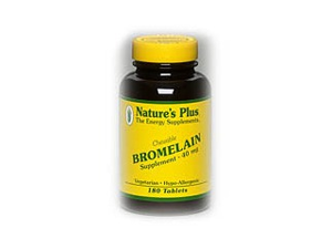 Bromelain 40mg - Nature's Plus - 180 - Chewable