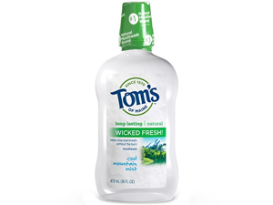 Long LAsting Wicked Fresh Cool Mountain Mint Mouthwash - Tom's Of Maine - 16 oz - Liquid