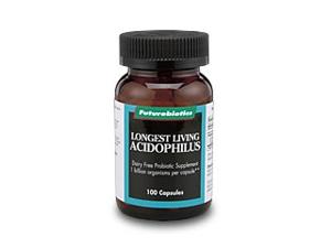 Longest Living Acidophilus - Futurebiotics - 100 - Capsule