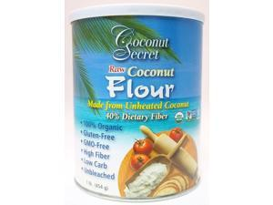 Raw Coconut Flour - Coconut Secret - 1 lb - Powder
