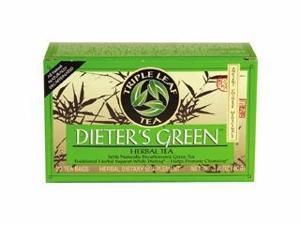 Diet Herbal Tea-Green Dieters Tea - Triple Leaf Tea - 20 - Bag