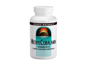 Methylcobalamin - Source Naturals, Inc. - 60 - Tablet