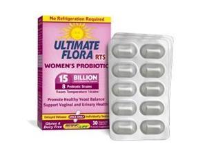 Ultimate Flora RTS Women's Probiotic - Renew Life - 30 - VegCap